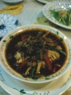 富良野でカレーの夕飯